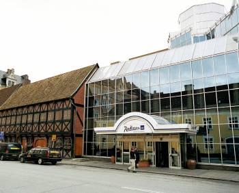 Ansicht Radisson Blu Hotel, Malmo