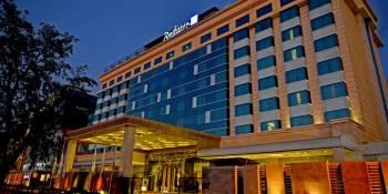Ansicht Radisson Blu Hotel Jaipur Airport