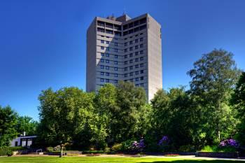 Außenaufnahme Congress Hotel am Stadtpark