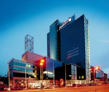 Ansicht Radisson Blu Hotel, Tallinn