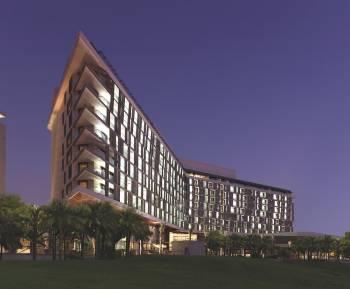 Ansicht Radisson Blu Hotel, Abu Dhabi Yas Island
