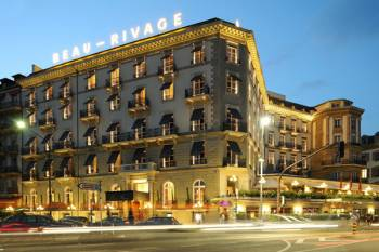 Ansicht Hotel Beau Rivage Genève
