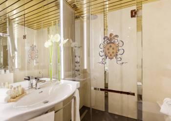 Badezimmer Business Plus Derag Livinghotel de Medici