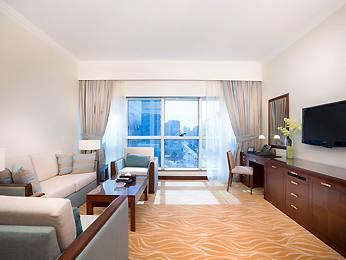 Ansicht Majlis Grand Mercure Residence Abu Dhabi
