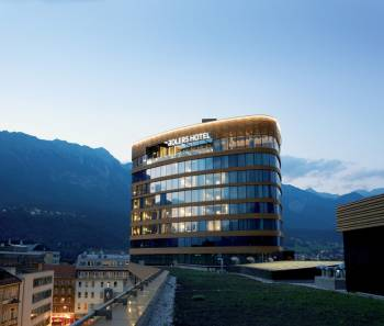 Ansicht aDLERS Hotel Innsbruck
