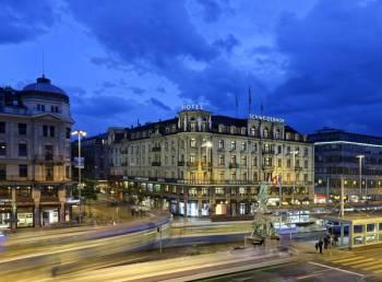 Ansicht Hotel Schweizerhof Zürich