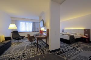 Ansicht Radisson Blu Hotel Basel