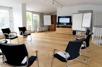 Exklusiver Workshopraum direkt über dem Hofgarten