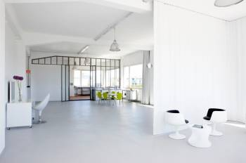 Vollausgestattetes Fotostudio als Workshopraum in München-Sendling