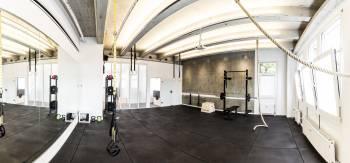 Fitnessraum als außergewöhnlicher Tagungsraum