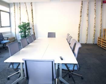 Heller Meetingraum für bis zu 35 Personen