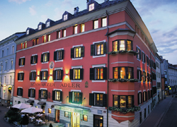 Ansicht Hotel schwarzer Adler Innsbruck