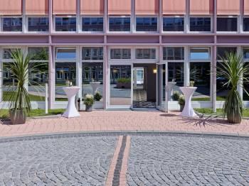 Terrasse Konferenzbereich