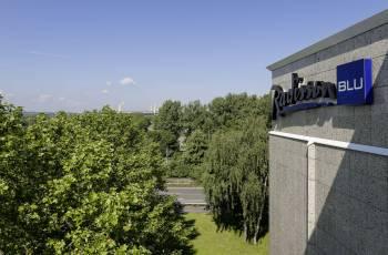 Ansicht Radisson Blu Hotel, Dortmund