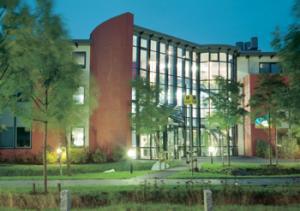 Ansicht des Hauptgebäudes