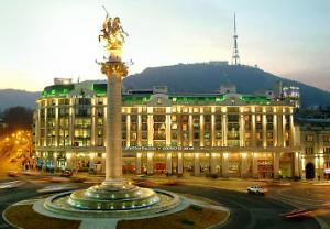 Ansicht Courtyard Tbilisi