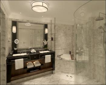 Bathroom Bellevue Suite