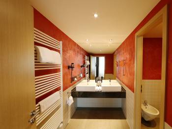 Suite and Family Room Bath