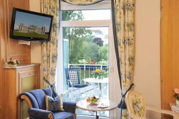 Balkon im Doppelzimmer