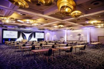 Hilton Munich Park - Ballsaal Social Distancing
