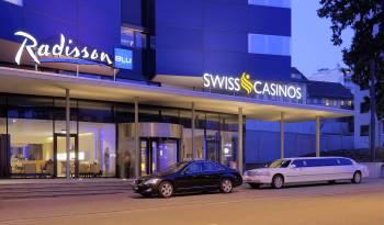 Ansicht Radisson Blu Hotel, St. Gallen