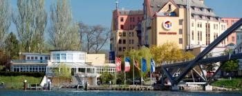Ansicht Hotel Dreiländerbrücke