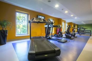 Fitnessbereich Park Inn by Radisson Frankfurt Airport