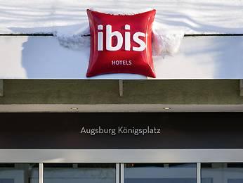 Hotelbild ibis Augsburg Koenigsplatz